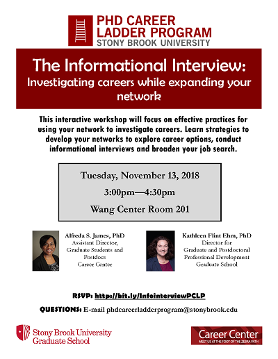Informational Interview flyer