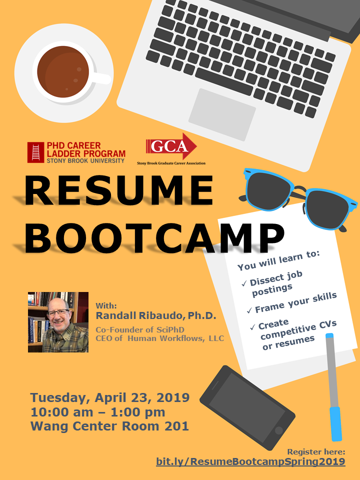 Resume Bootcamp Spring 2019
