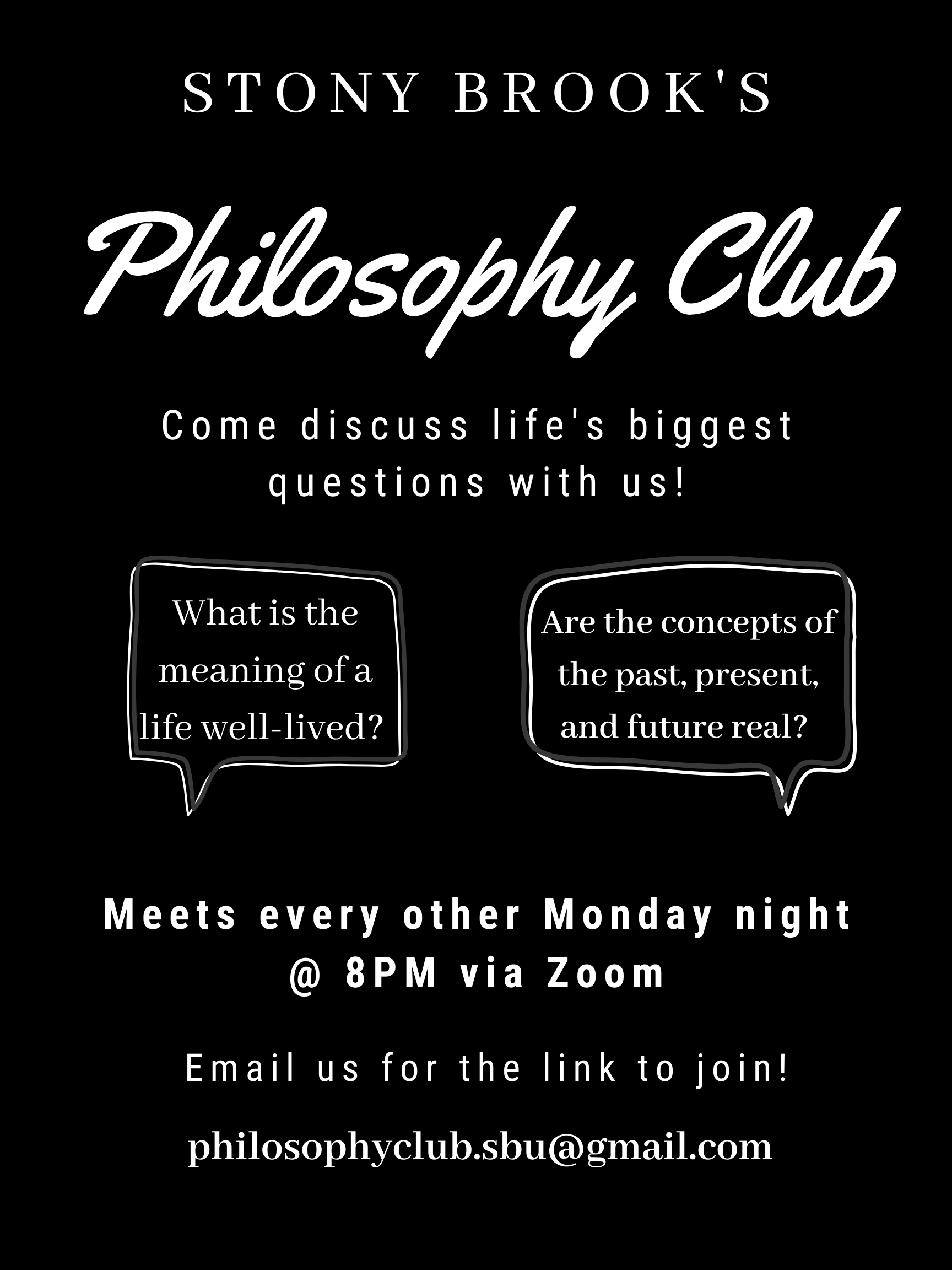 Philosophy Club Poster