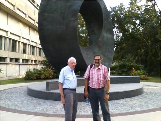 Lin and Abhay at the Umbilic Torus