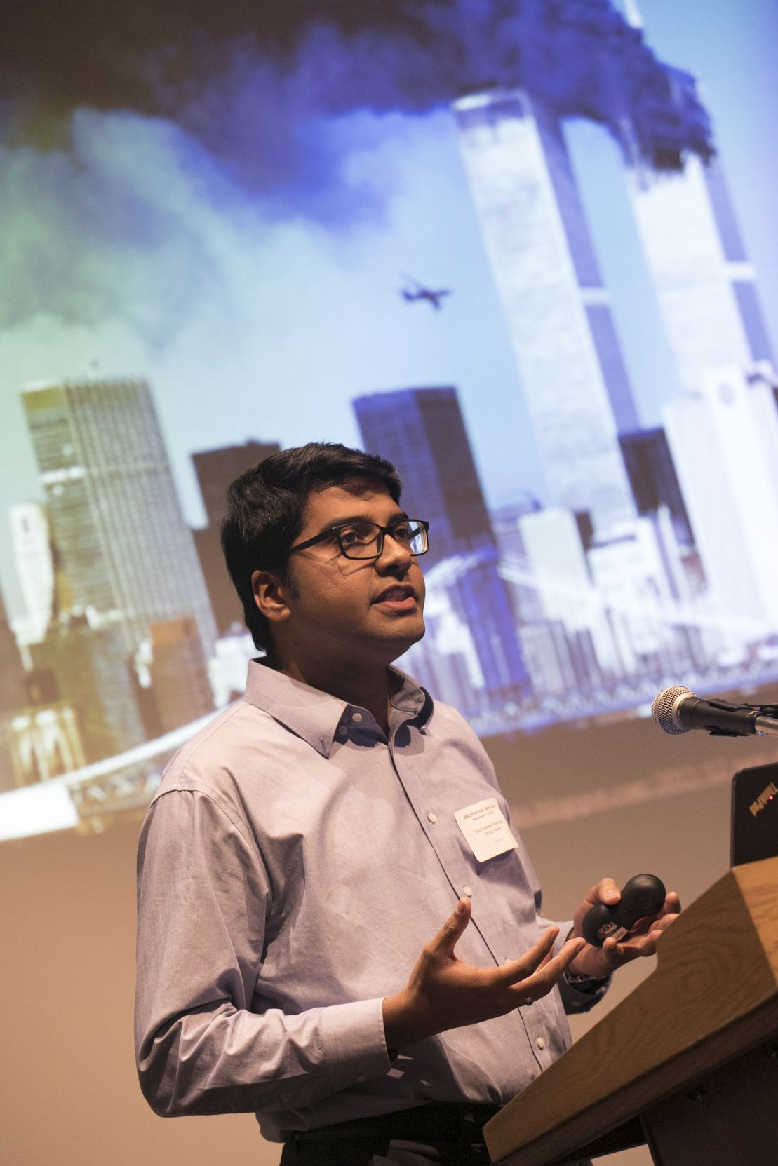 Deep Mukherjee at 2017 Postdoc Spotlight