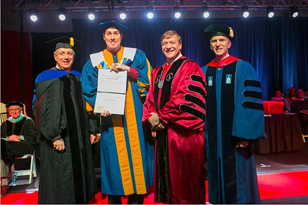 A doctoral degree