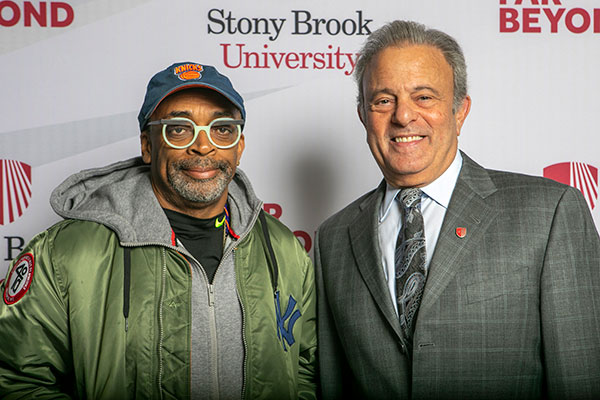 spike lee with michael bernstein