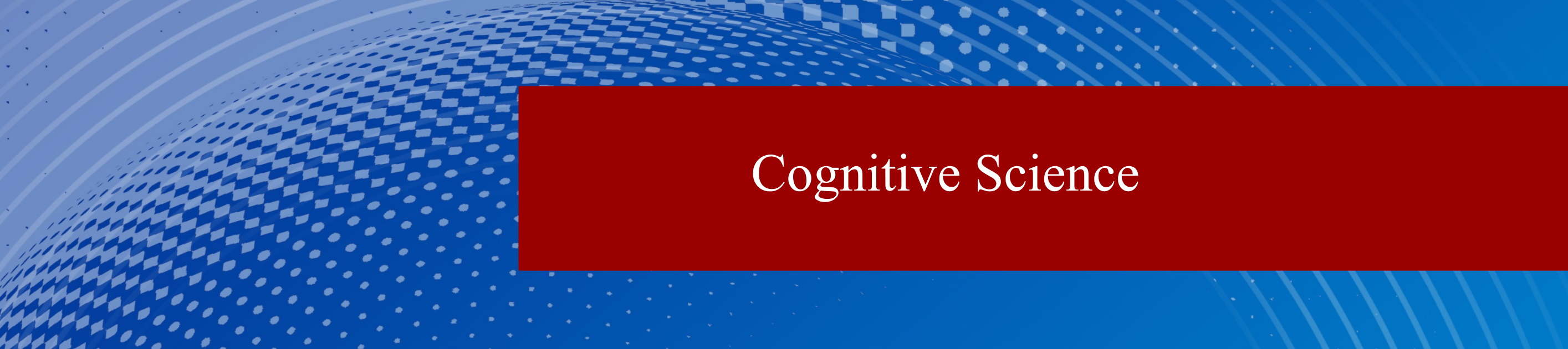 Cognitive Science | Department of Psychology