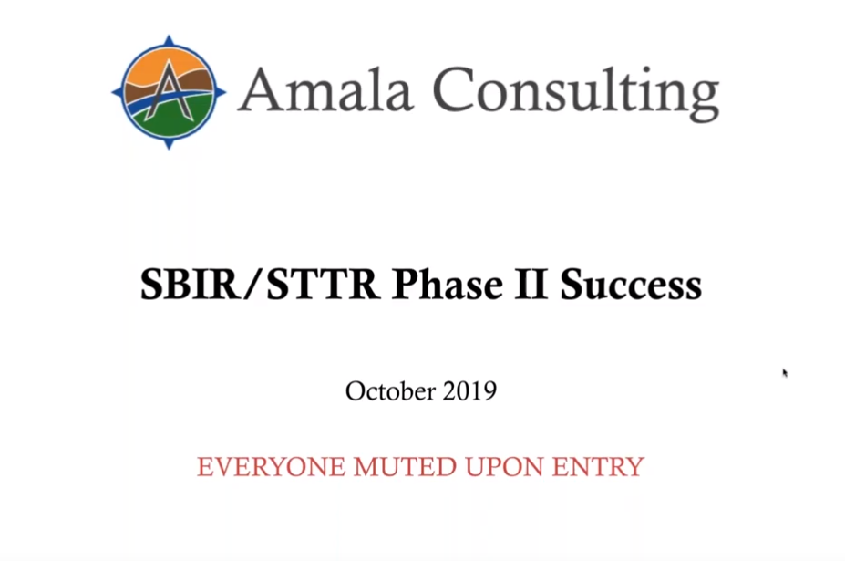 How to Build a Successful SBIR STTR Phase 2 Proposal