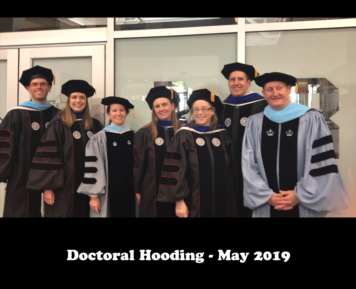 Doctoral Hooding - May 2019