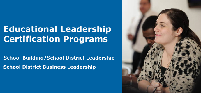 Educational Leadership Certification Programs