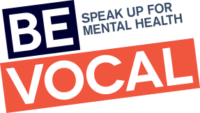 Be Vocal Speak Up for Mental Health logo