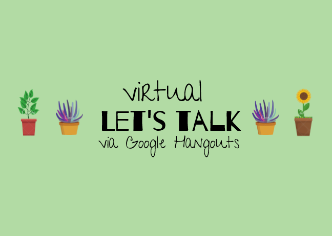 Let's Talk Virtually