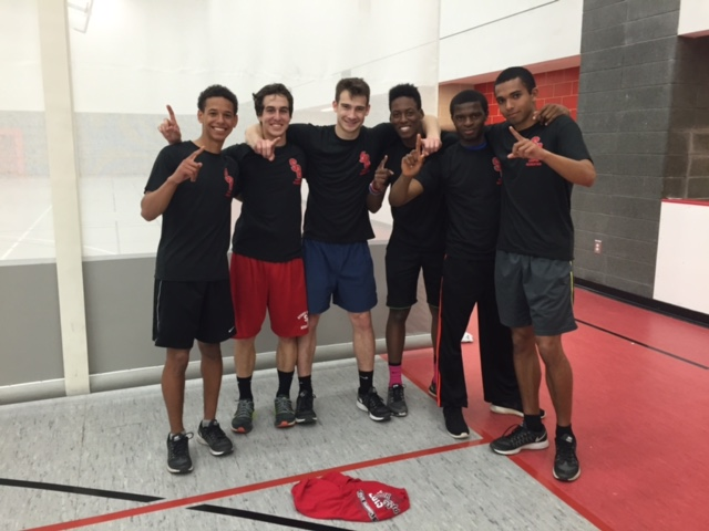 Aboss and the Bosses: Dodgeball Tournament Champions