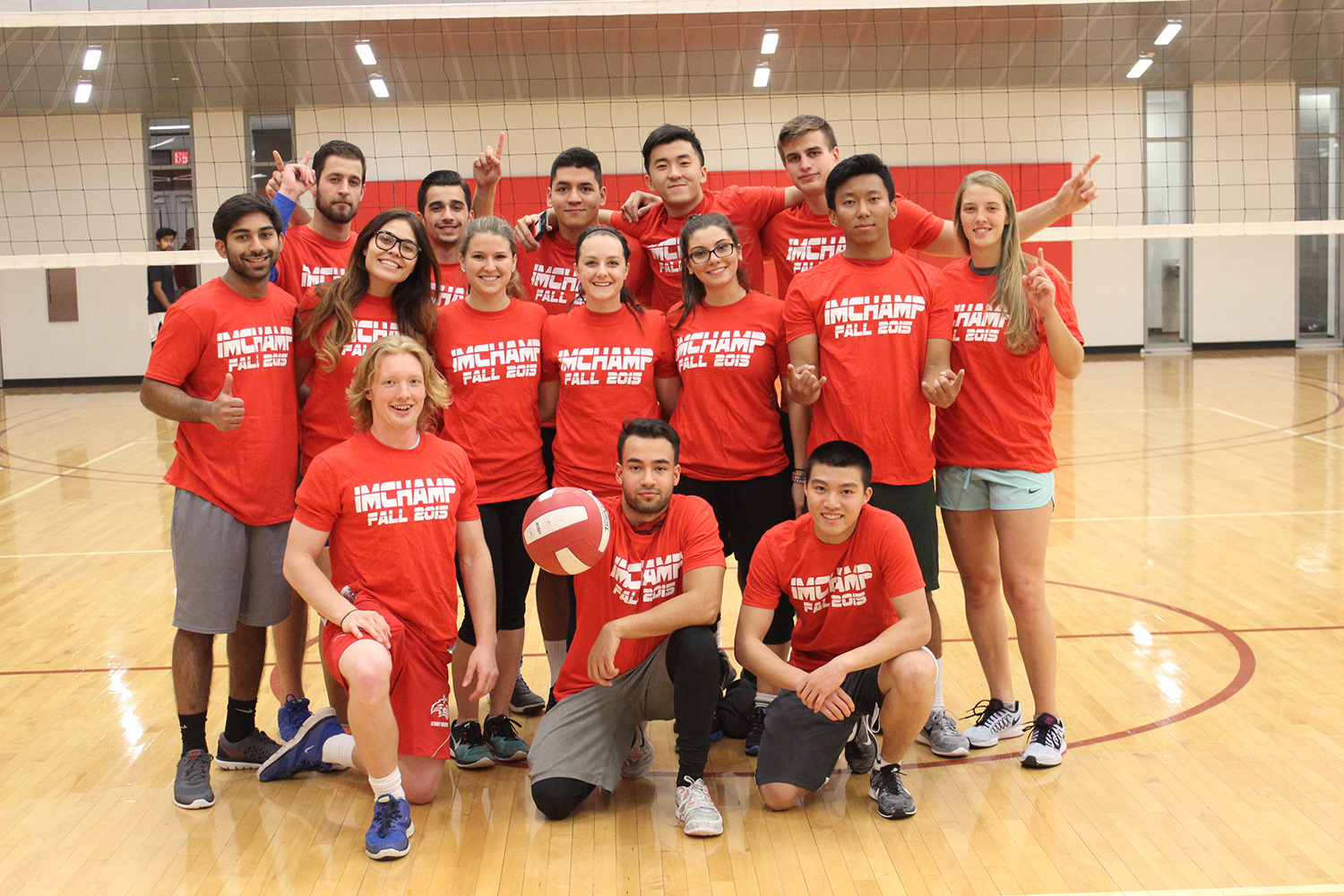 #RecIsLife: CoRec Recreational Fall Volleyball Champions