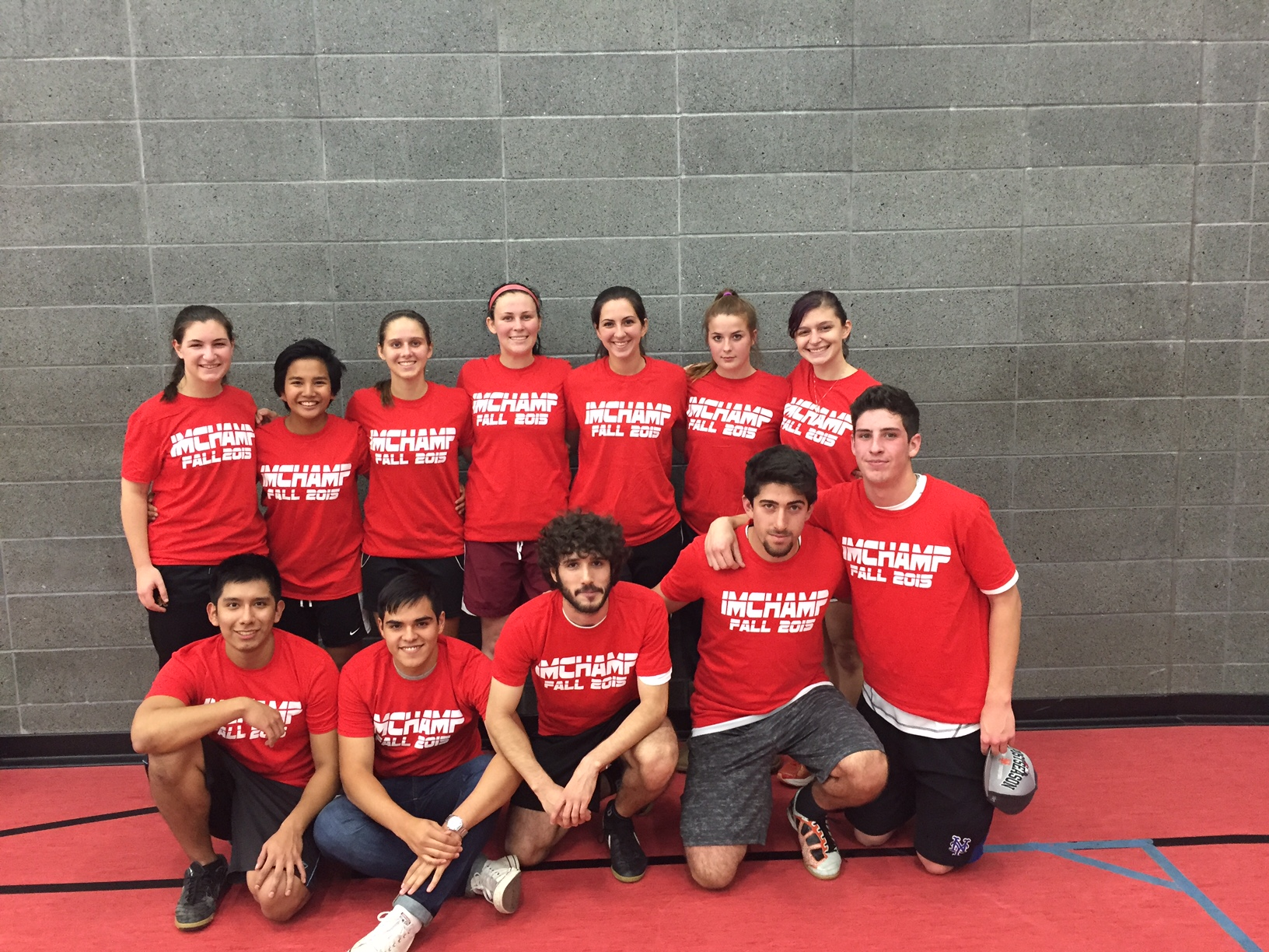 Red Team: CoRec Competitive Indoor Soccer Champions
