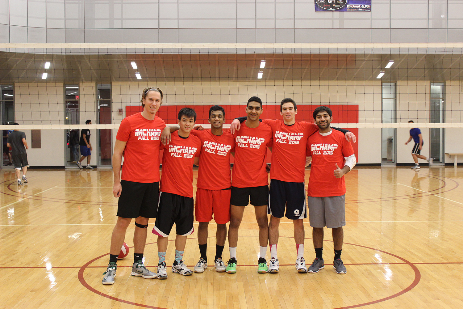 Wolfpack: Men's Recreational Fall Volleyball Champions