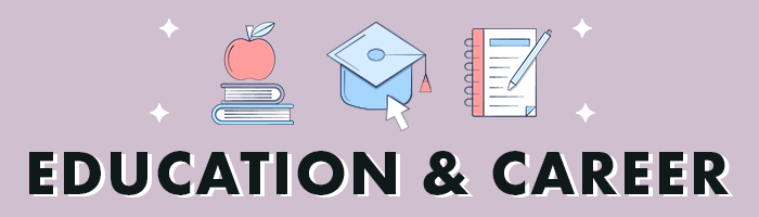 education & career banner