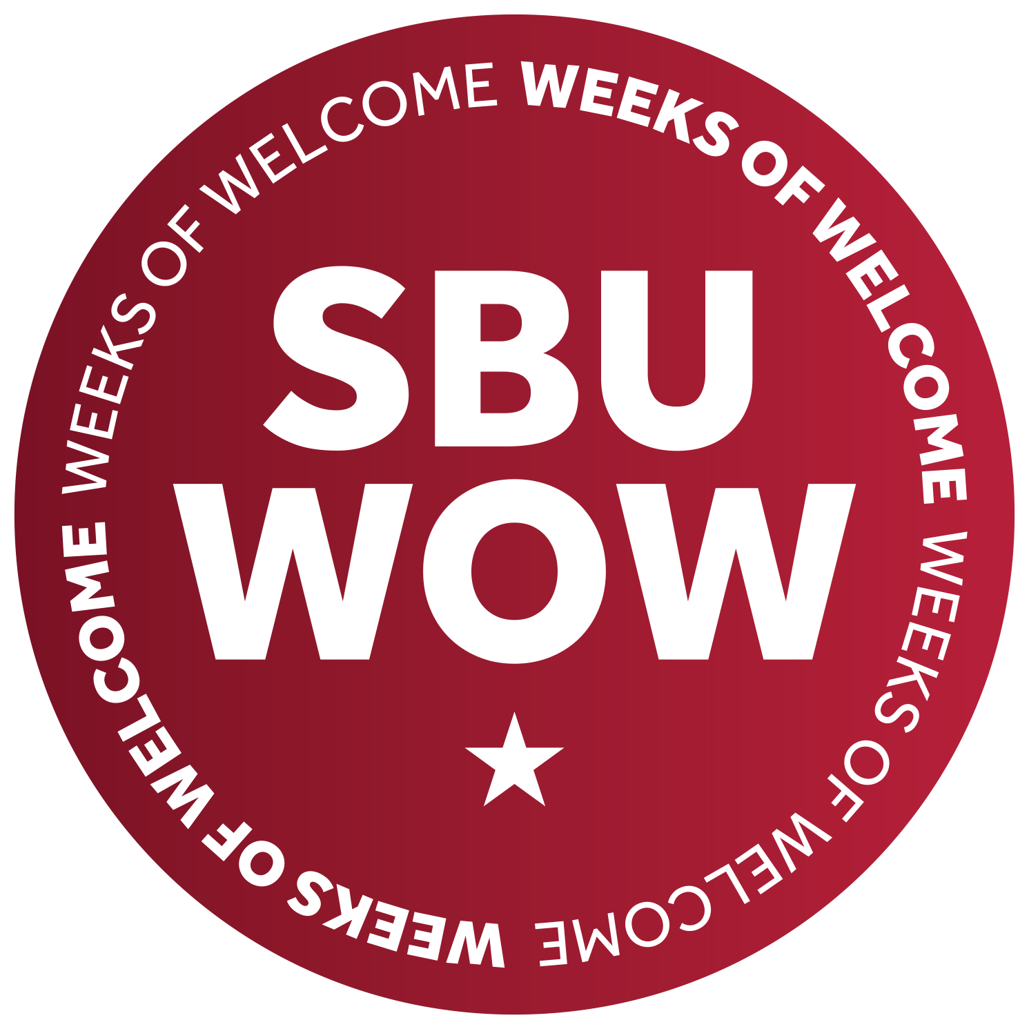 SBU Weeks of Welcome or SBU WOW is an initiative focused on introducing new students to campus life during opening weekend but also ensuring the start of the semester is vibrant and engaging for all students