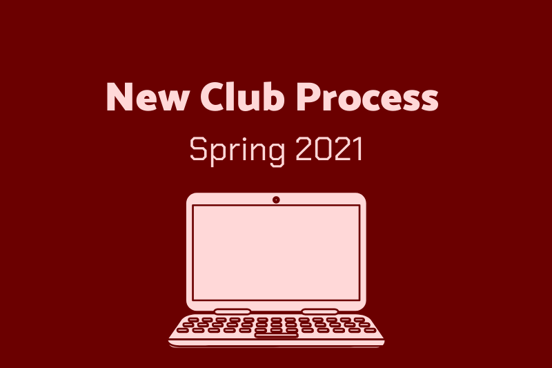 New Club Process- Spring 2021Looking to start a club/organization on campus?