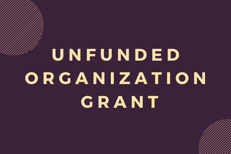 Unfunded Organization GrantApplications are now open for the Unfunded Organization Grant!  Undergraduate organizations that do not receive funding are eligible to apply.