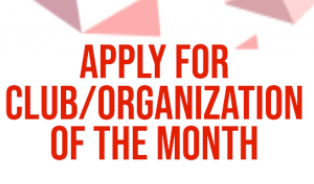 SEA and USG  Club/Organization of the Month ApplicationIs your group interested in being considered for Club/Organization of the Month?