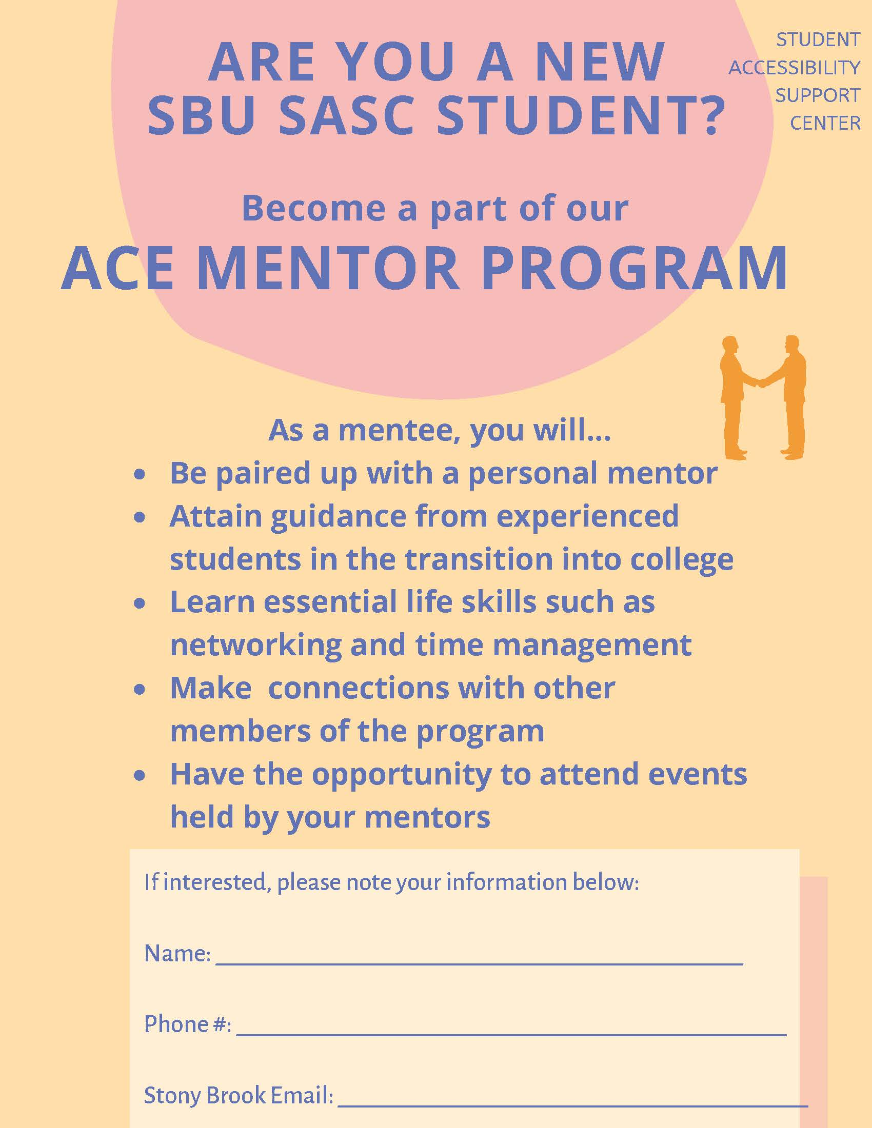 Ace Mentor Flyer