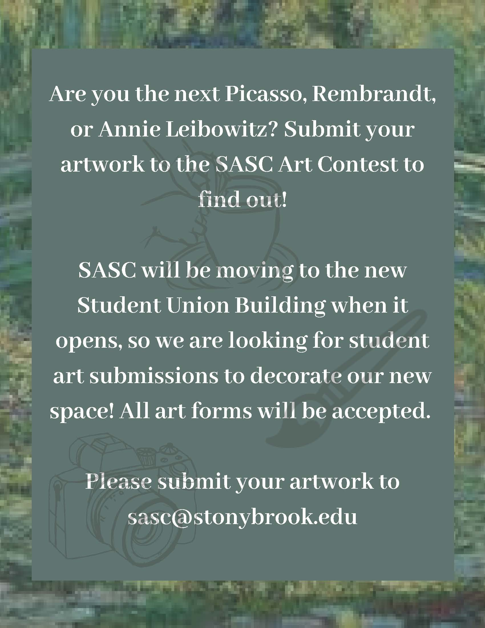 SASC Art Contest Flier