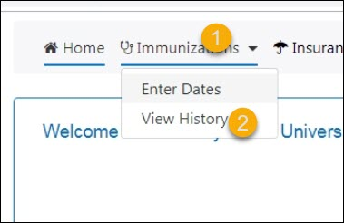 upload immunization forms