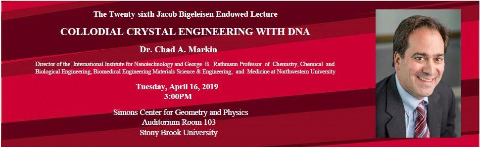 The Twenty-sixth Jacob Bigeleisen Endowed Lecture