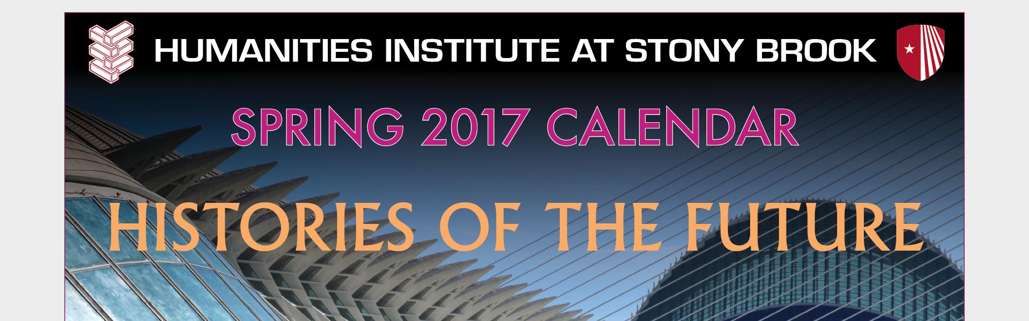 Spring 2017 Calendar