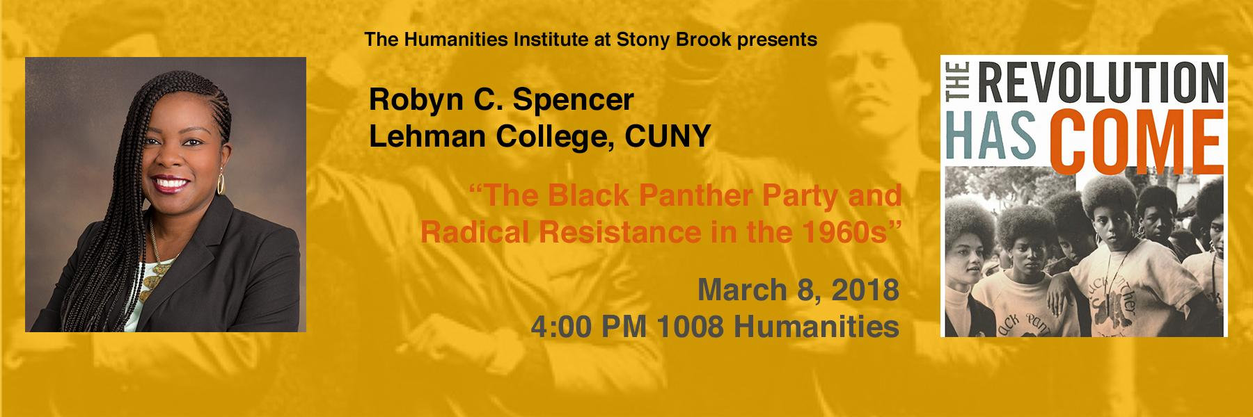 Robyn Spencer lecture