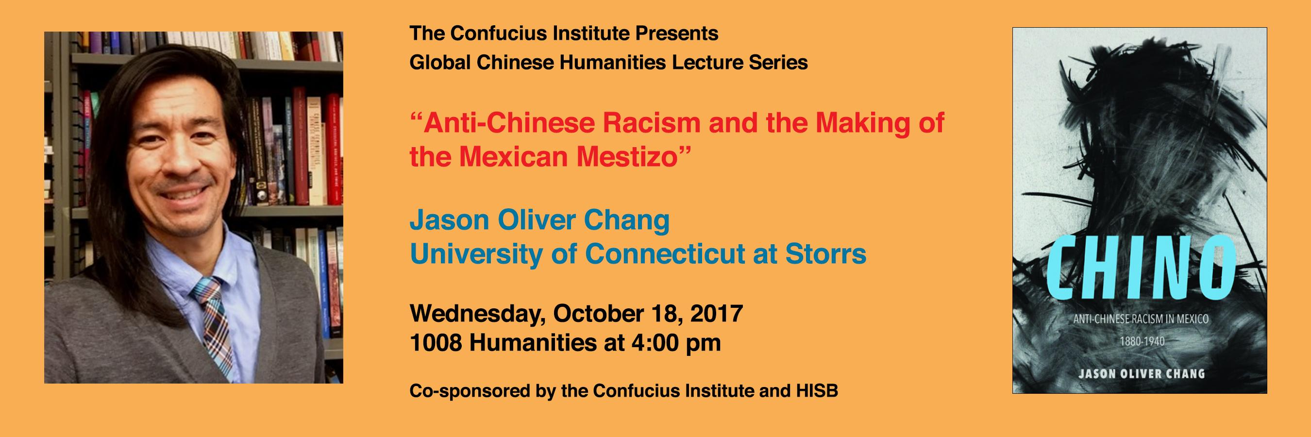 Jason Oliver Chang lecture