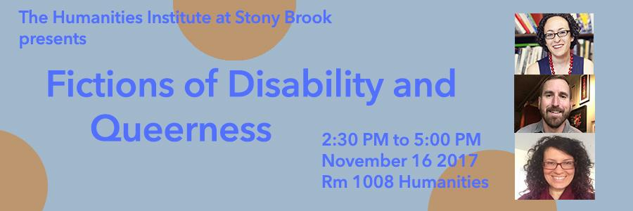 Fictions of Disability and Queerness
