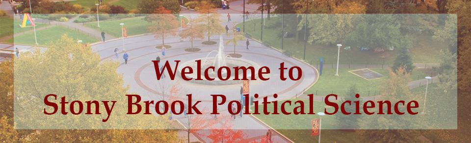 Political Science Department at Stony Brook University