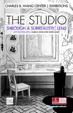 The Studio exhibit poster