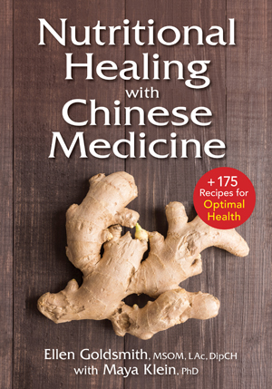 Nutritional Healing with Chinese Medicine book cover