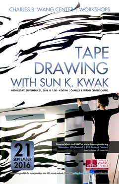 tape drawing workshop