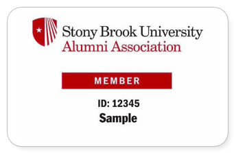 Sample Alumni member card