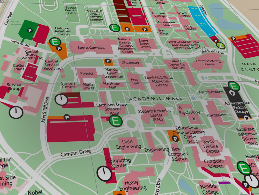 Montclair State University Campus Map Pdf.Stony Brook University New York Maps Directions