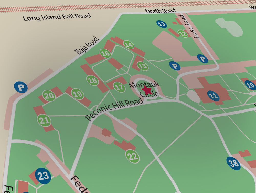 Stony Brook University New York Maps Directions