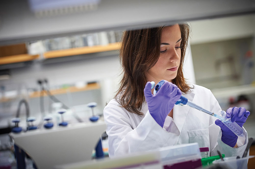 Ioana Soaita '17, a  biomedical engineering major, studies the relationship between diabetes and heart disease.