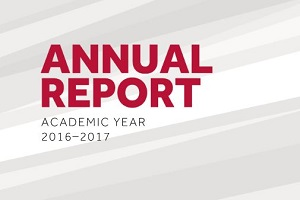 Annual Report Academic Year 2016-2017