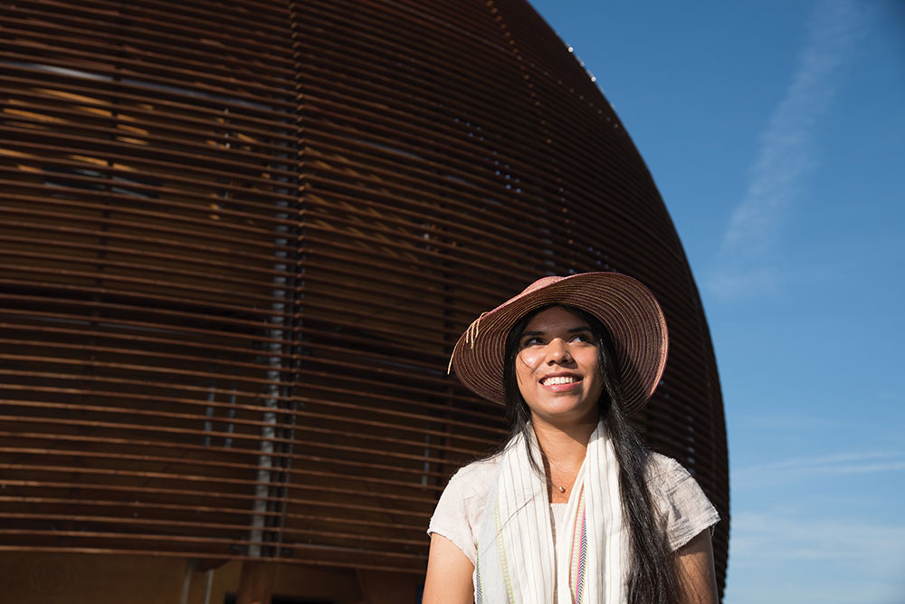 Jessica Flores '17 interacted with leading physicists and engineers at CERN.