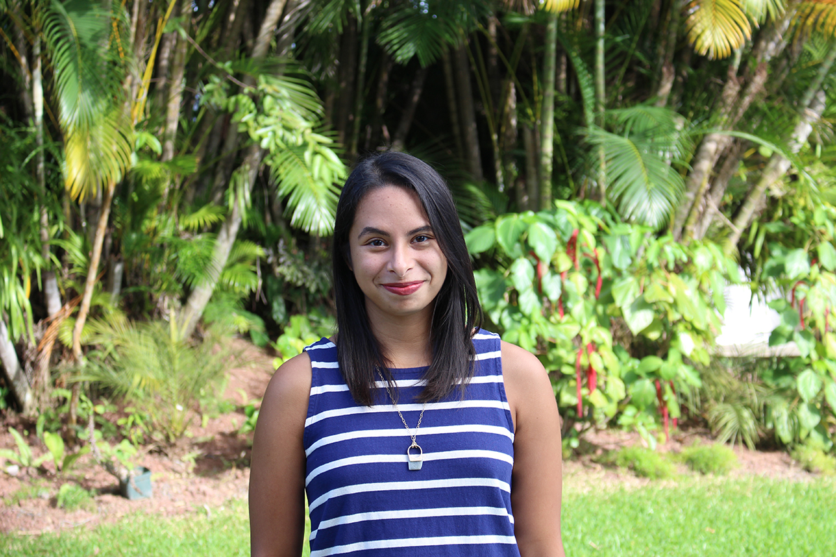 Alejandra Romero'14 says the program helped her determine that International Relations was the field she wanted to pursue.