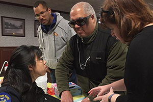 Trauma Center Conducts First Visually Impaired Bleeding Control Training