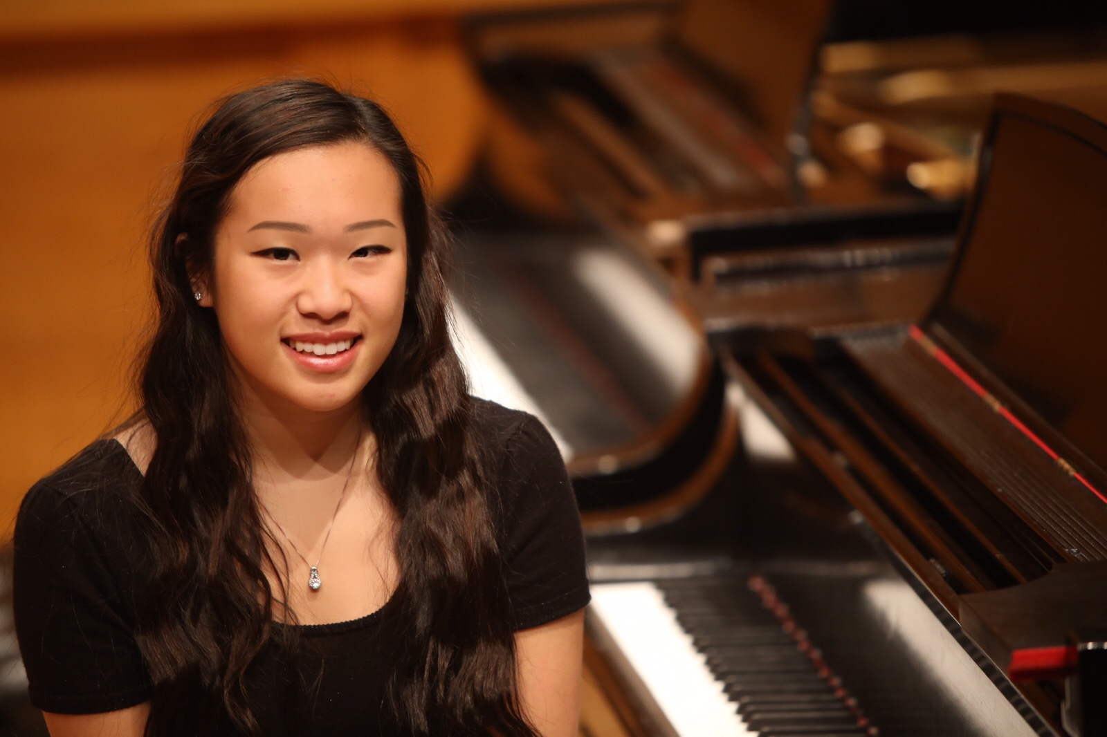 Piano soloist Brianna Tang joins the orchestra on May 1.