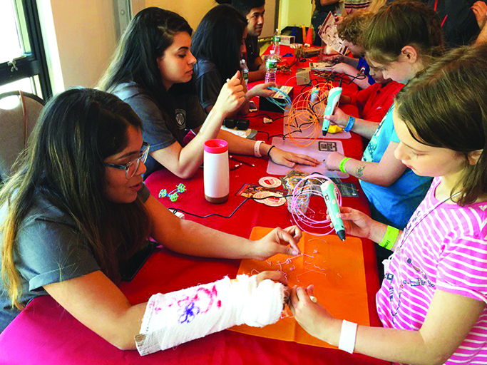 Stony Brook University's iCreate lab offers hands-on activities for kids.