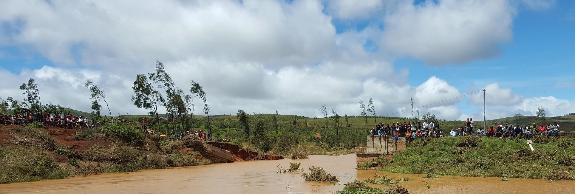 Cyclone Ava caused massive destruction in southeast Madagascar.