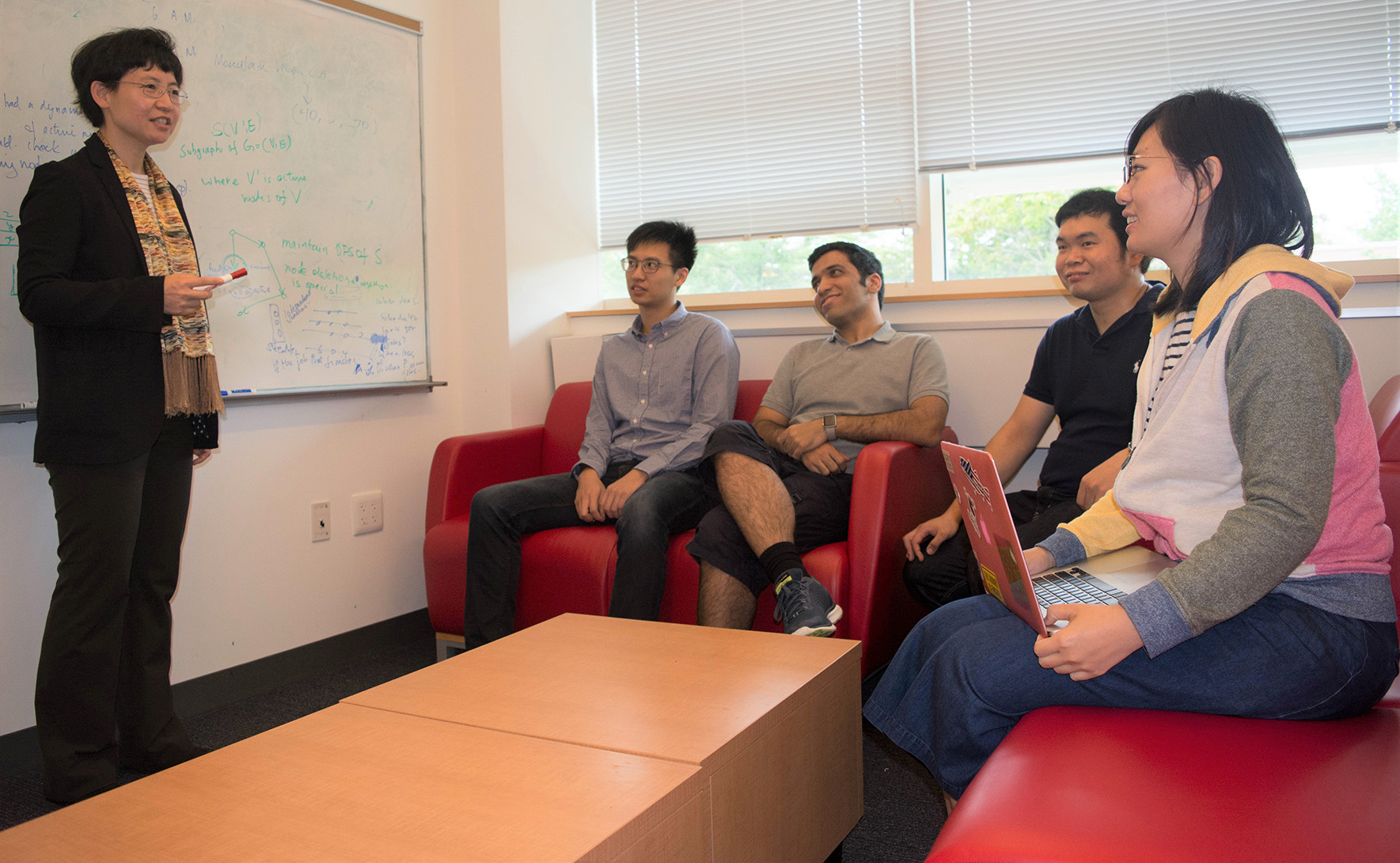 Multiple NSF Awards Fund Jie Gao's Algorithm Research
