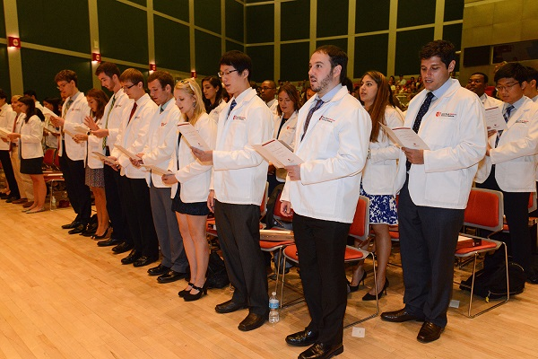 132 Incoming Medical Students – Largest Class Ever – Begin Journey ...