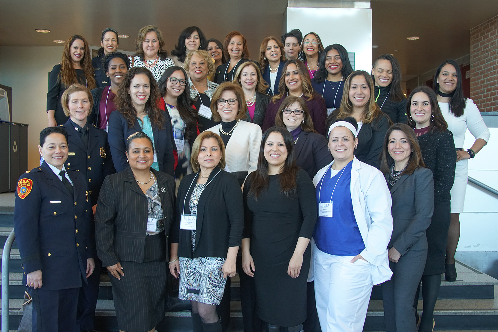 Nearly 40 women from a variety of professions offered their time and encouragement.