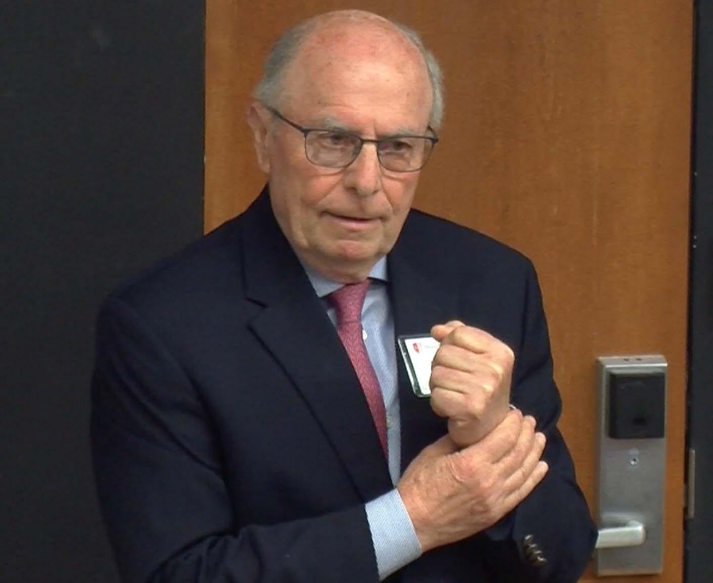 Center for Italian Studies Director Mario Mignone