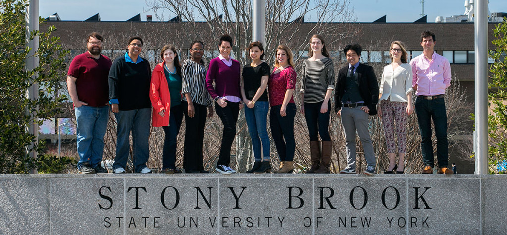 Eleven students earned NSF GRFP fellowships in 2016 at Stony Brook University.